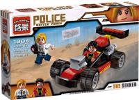 Конструктор Brick Полиция. Гонка / 1904 -