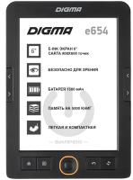 Электронная книга Digma E654 (черный) -