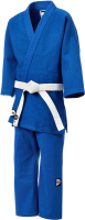 Кимоно для дзюдо Green Hill JSST-10572 (р.1/140, синий) -