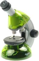 Микроскоп оптический Микромед Атом 40x-640x / 27385 (лайм) -