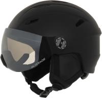 Шлем горнолыжный Glissade DF0Y1VHMEJ / A19EGSSH001-B1 (L, черный) -