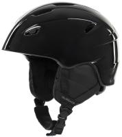 Шлем горнолыжный Glissade Q0CFRKLCEY / A20EGSSH001-99 (L, черный) -