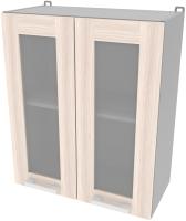Шкаф навесной для кухни Интерлиния Компо ВШ60ст-720-2дв (шимо светлый) -