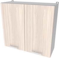 Шкаф навесной для кухни Интерлиния Компо ВШ80-720-2дв (шимо светлый) -