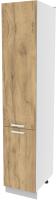 Шкаф-пенал кухонный Интерлиния Компо НШП-№2-2145 (дуб золотой) -