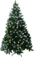 Ель искусственная Merry Bear Моника с шишками и снегом / SYSA-0220321 (2.1м) -