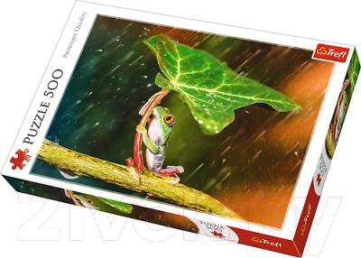 Пазл Trefl Зеленый зонт / 37288