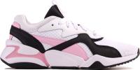 Кроссовки Puma Nova 90's Bloc 3694861-6 / 369486-03 (р-р 6, белый/розовый) -