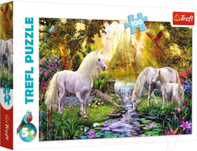 Пазл Trefl Таинственный сад / 16349