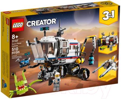 Конструктор Lego Creator. Исследовательский планетоход / 31107 конструктор lego creator 40460 розы