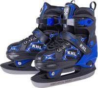 Ролики-коньки KHL Switch S (р-р 31-34, синий) -