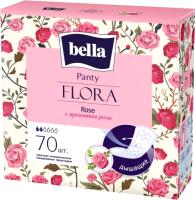 Прокладки ежедневные Bella Flora Rose с ароматом розы (70шт) -