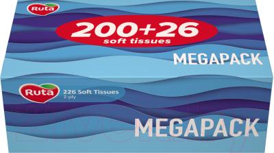Бумажные салфетки, 2 шт. Ruta Family Pack косметические белые 200x210