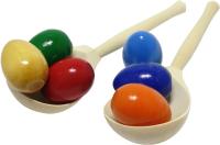 Активная игра RNToys Набор ложек с цветными яйцами / Д-718 -