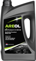 Моторное масло Areol Eco Protect C4 5W30 / 5W30AR125 (5л) -