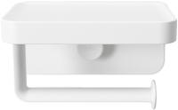 Держатель для туалетной бумаги Umbra Flex с полочкой 1014159-660 (белый) -