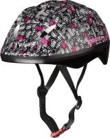 Защитный шлем Indigo City IN071 (L, серый/розовый) -