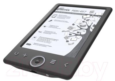 Электронная книга Ritmix RBK-617 (черный)