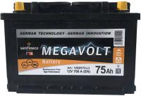Автомобильный аккумулятор Senfineco Megavolt 1219L/75-L3 (75 А/ч) -