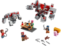 Конструктор Lego Minecraft. Битва за красную пыль / 21163 -