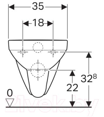 Унитаз подвесной с инсталляцией Geberit 458.121.SE.1