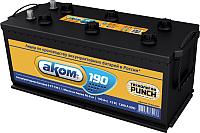 Автомобильный аккумулятор AKOM 6СТ-190L (190 А/ч) -