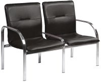 Секция стульев Nowy Styl Staff-2 Chrome (Eco-30) -