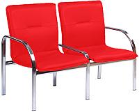 Секция стульев Nowy Styl Staff-2 Chrome (Eco-90) -