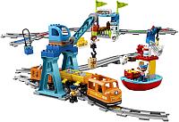 Конструктор электромеханический Lego Duplo Грузовой поезд 10875 -