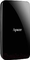 Внешний жесткий диск Apacer AC233 2TB Black (AP2TBAC233B-1) -