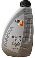 Моторное масло Q8 Techno FE Plus 5W30 / 105108301751 (1л) -