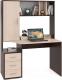 Письменный стол Сокол-Мебель КСТ-16 (венге/беленый дуб) -
