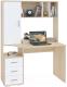 Письменный стол Сокол-Мебель КСТ-16 (дуб сонома/белый) -