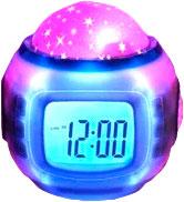 Световой будильник Sipl АК234 проектор звездного неба + 10 мелодий -
