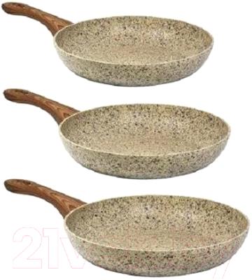 Фото - Набор сковородок CS-Kochsysteme 065324 набор из 3 х мини сковородок