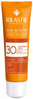 Крем солнцезащитный Rilastil Sun System SPF30 для чувствительной кожи с Pro-DNA Complex (50мл)