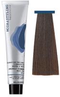 Крем-краска для волос Elgon Moda&Styling 5/81 светло-каштановый коричнево-пепельный (125мл) -