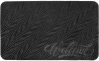 Коврик грязезащитный VORTEX Comfort Welcome 45x75 / 24116 (серый) -