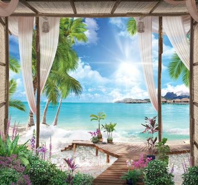 Фотообои Твоя планета Люкс Тропический рай (291x272)