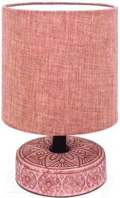 Прикроватная лампа Лючия Лима 455 (темно-розовый)