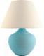 Прикроватная лампа Лючия Верона 552 (голубой) -