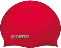 Шапочка для плавания Atemi SC309 (красный) -