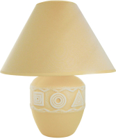 Прикроватная лампа Лючия Геометрия D1902 (бежевый) -