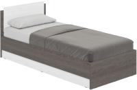 Односпальная кровать Modern Аманда А09 (анкор темный/анкор светлый) -