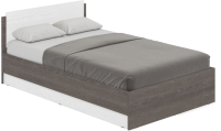 Полуторная кровать Modern Аманда А12 (анкор темный/анкор светлый) -