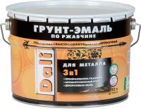 Эмаль DALI По ржавчине 3в1 RAL9006 (10л, серебристый алюминий) -