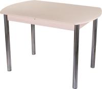 Обеденный стол Домотека Танго ПО-1 80x120-157 (кремовый/молочный дуб/02) -