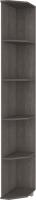 Угловое окончание для шкафа Modern Карина К64 (анкор темный) -