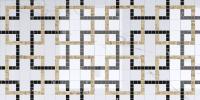 Декоративная плитка Axima Орлеан Люкс Квадрат (300x600) -
