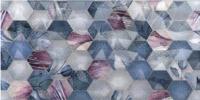 Декоративная плитка Axima Ницца Люкс Цветы Рельеф (250x500) -